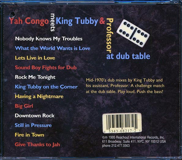 Yah Congo, King Tubby, Professor - Meets King Tubby & Professor At Dub Table