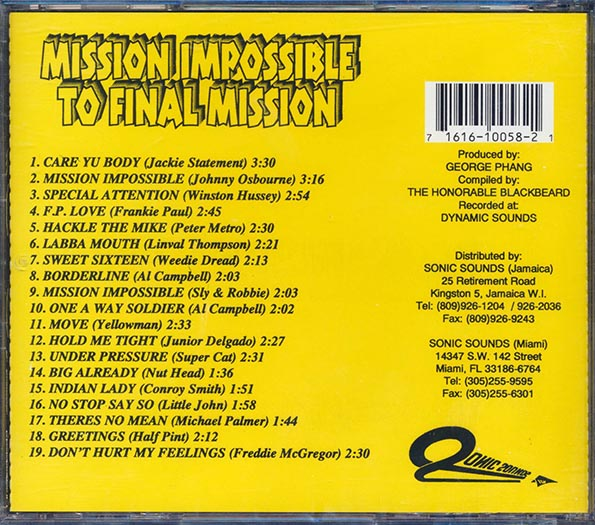 Mission Impossible + Final Mission