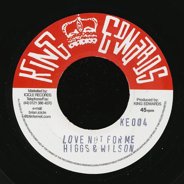 Roland Alphonso - Shuffle Duck  /  Higgs & Wilson - Love Not For Me