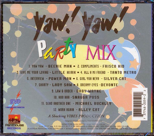Yaw Yaw Party Mix