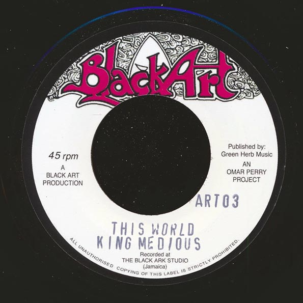 Jr. Byles - Fever  /  King Medious - This World