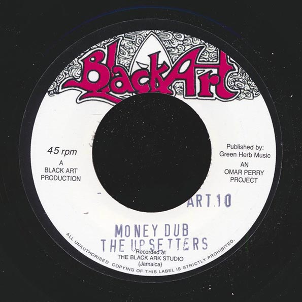Danny Hensworth - Mr. Money Man  /  Upsetters - Money Dub