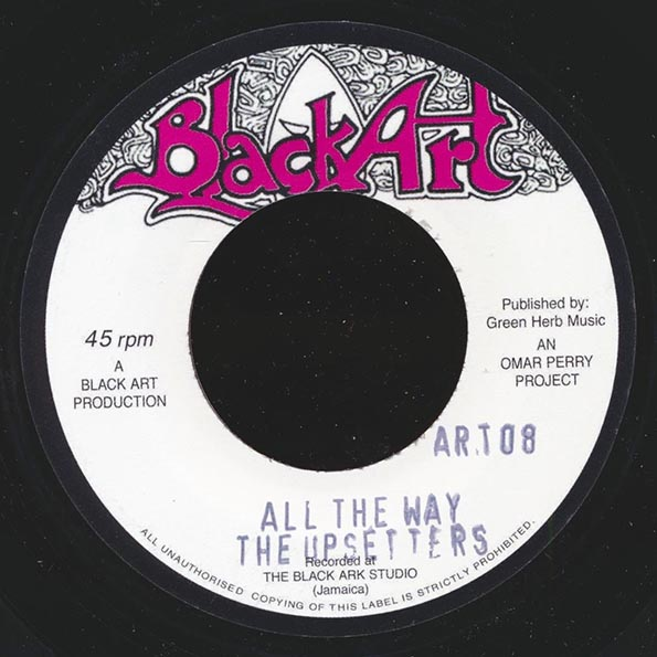 Jr. Byles - Long Way  /  The Upsetters - All The Way