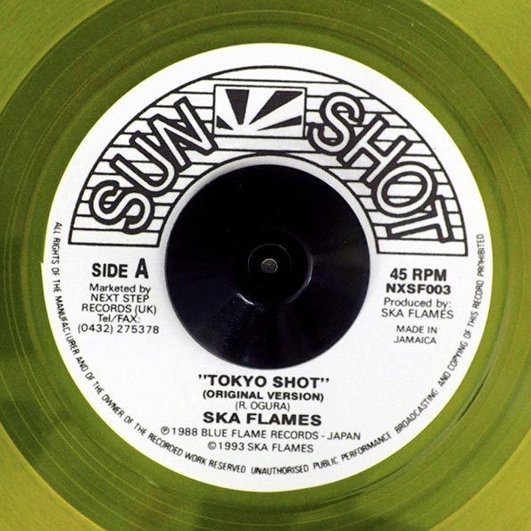 Ska Flames - Tokyo Shot  /  Ray Hyman (PICTURE SLEEVE)