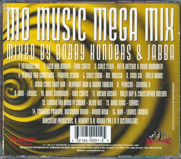 Mo Music Mega Mix: Mixed By Bobby Kondors