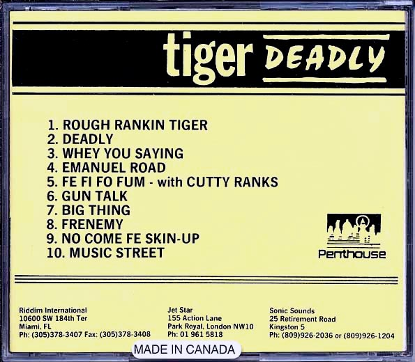 Tiger - Deadly