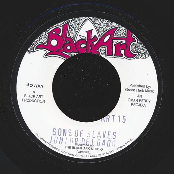 Jr. Delgado - Sons Of Slaves  /  The Upsetters - Sons Of Dub