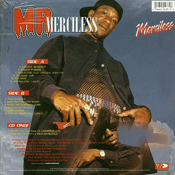 Merciless - Mr. Merciless