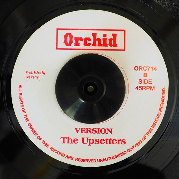 Jr. Byles - A Place Called Africa  /  The Upsetters - Version