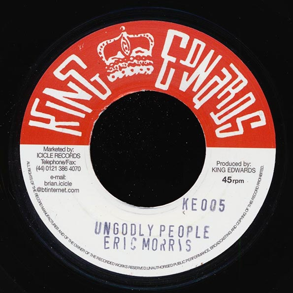 The Skatalites - Jones Town Special  /  Eric Morris - Ungodly People
