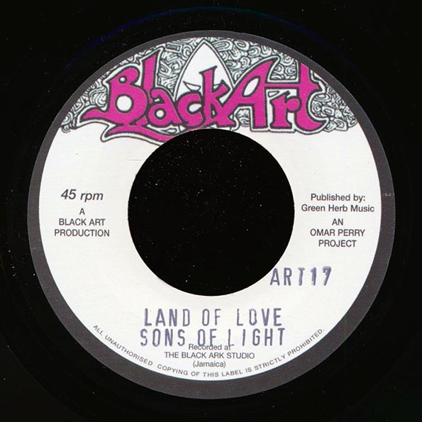 Sons Of Light - Land Of Love  /  The Upsetters - Land Of Dub