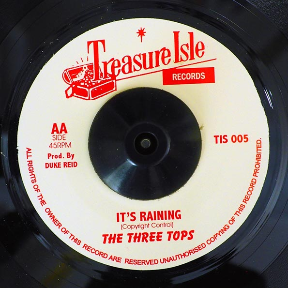Jamaicans - Things You Say You Love  /  The Three Tops - It's Raining