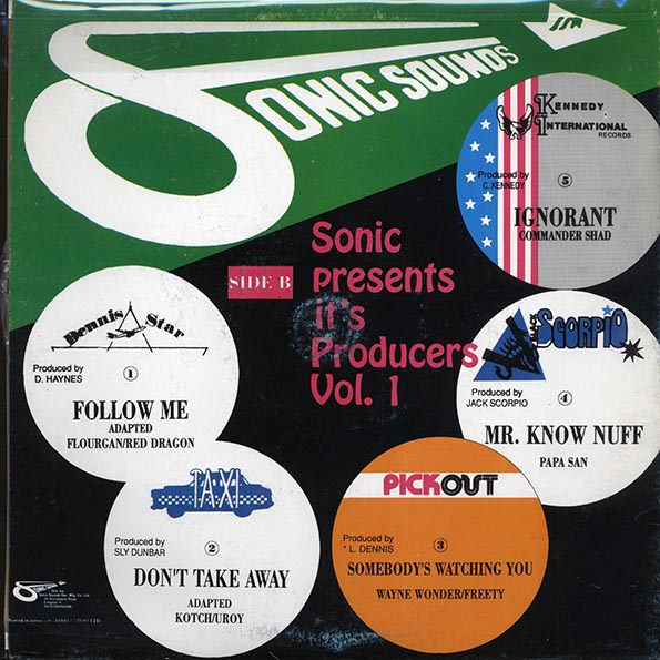 Sonic Presents It's Producers Volume 1