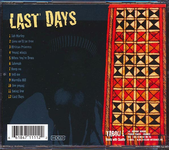 The Abyssinians - Last Days