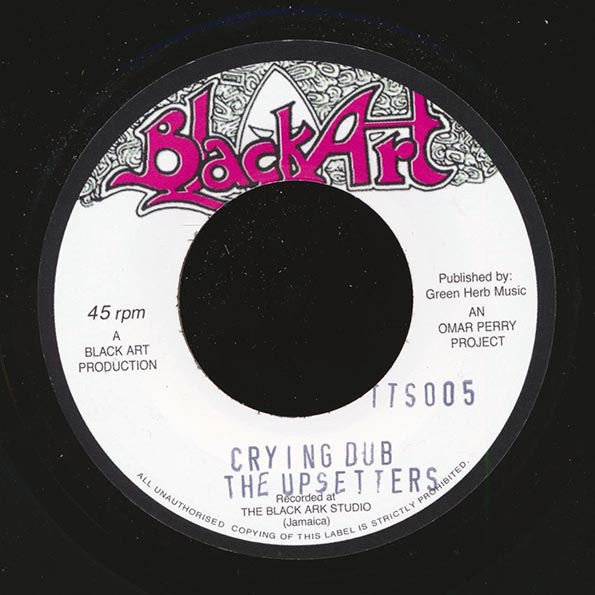 Heptones - Crying Over You  /  The Upsetters - Crying Dub