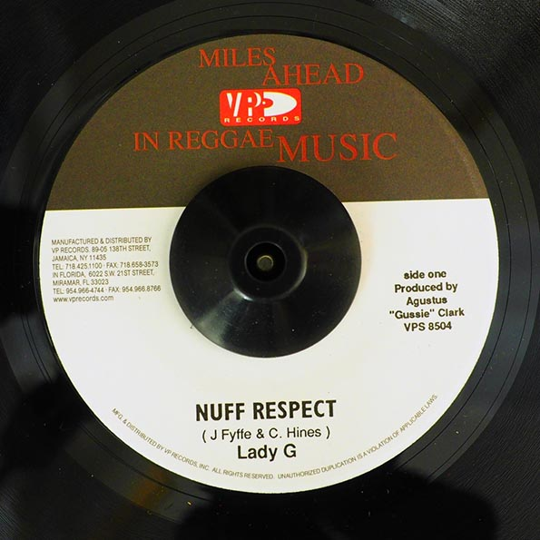 Lady G - Nuff Respect  /  Version