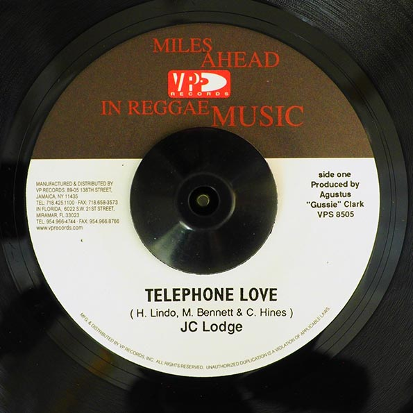 JC Lodge - Telephone Love  /  JC Lodge & Shabba Ranks - De Pon Mi Mine