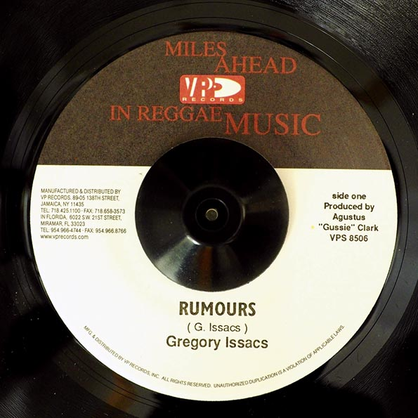 Gregory Isaacs - Rumours  /  Version
