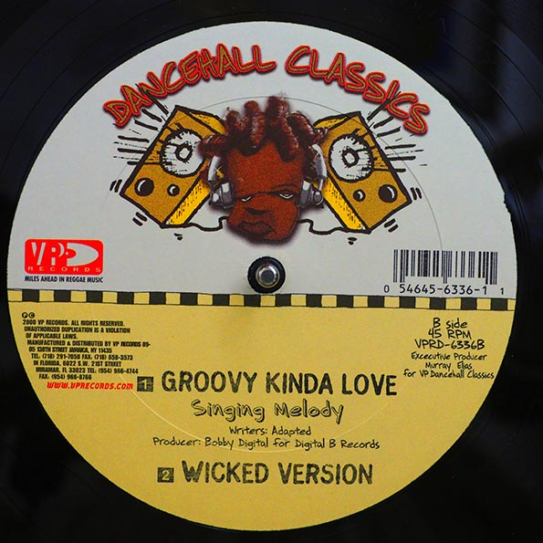 Shabba Ranks - Wicked In Bed  /  Singing Melody - Groovy Kind Of Love