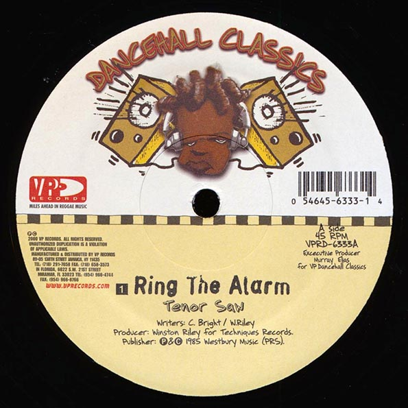 Tenor Saw - Ring The Alarm  /  Nardo Ranks - Skin Out; Stalag Version