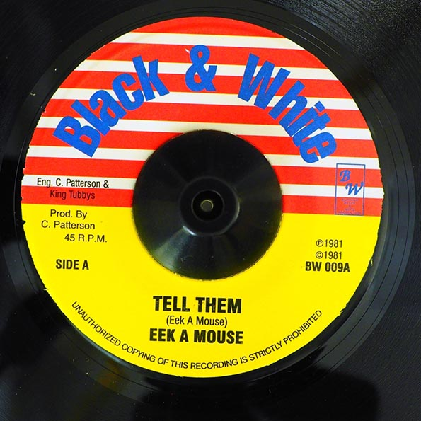 Eek A Mouse - Tell Them  /  King Tubby - Tall Man Dub