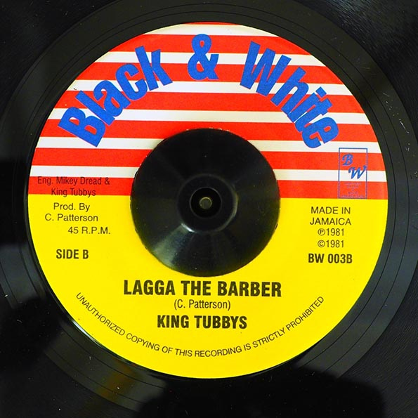 Mikey Dread - Barber Saloon  /  King Tubby - Lagga The Barber