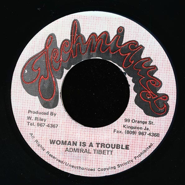 Admiral Tibet - Woman Is A Trouble