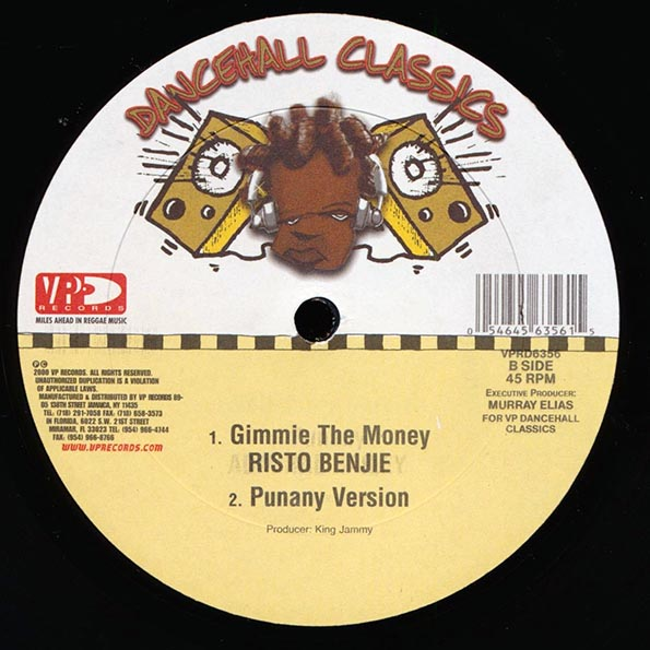 Admiral Bailey - Punanny  /  Risto Benjie - Gimme The Money