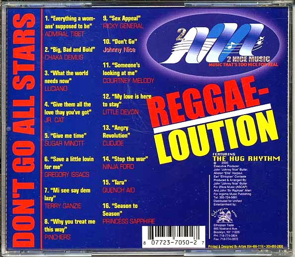 Reggae-Loution: Don't Go All Stars ('Hug' rhythm)