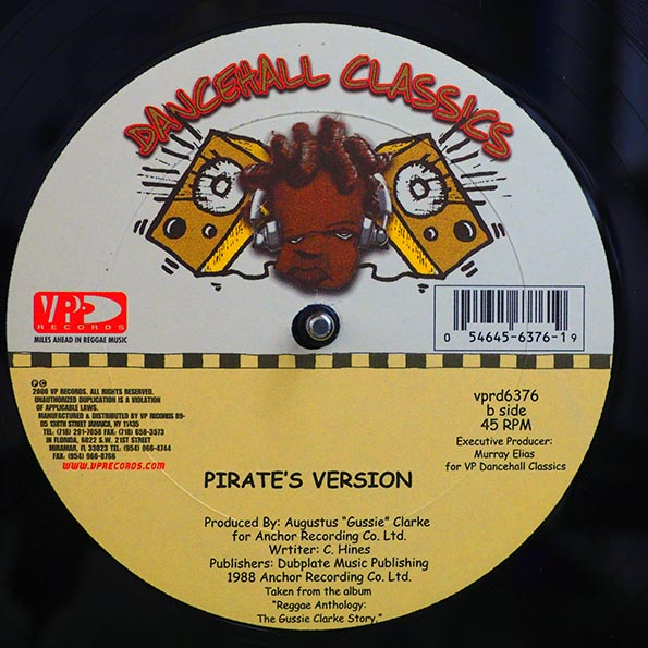 Home T, Cocoa Tea, Shabba Ranks - Pirate's Anthem  /  Pirate's Anthem Version