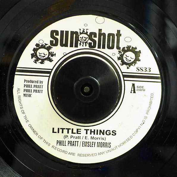 Phil Pratt, Emsley Morris - Little Things  /  Phil Pratt Allstar - Dirty Dozens
