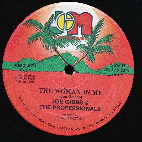 Jr. Vibes - The Man In Me;  U Mike - Loving Galore  /  Joe Gibbs & The Professionals - The Woman In Me