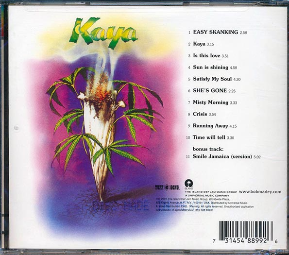 Bob Marley - Kaya: Definitive Remasters