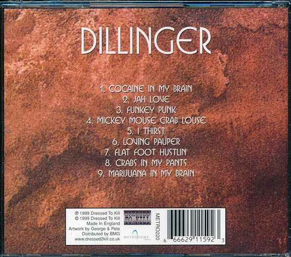 Dillinger - Kings Of Reggae (Cocaine In My Brain, Crab Louse, etc.)