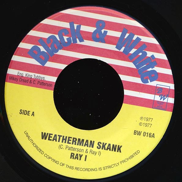Ray I - Weatherman Skank  /  King Tubby - King At The Control