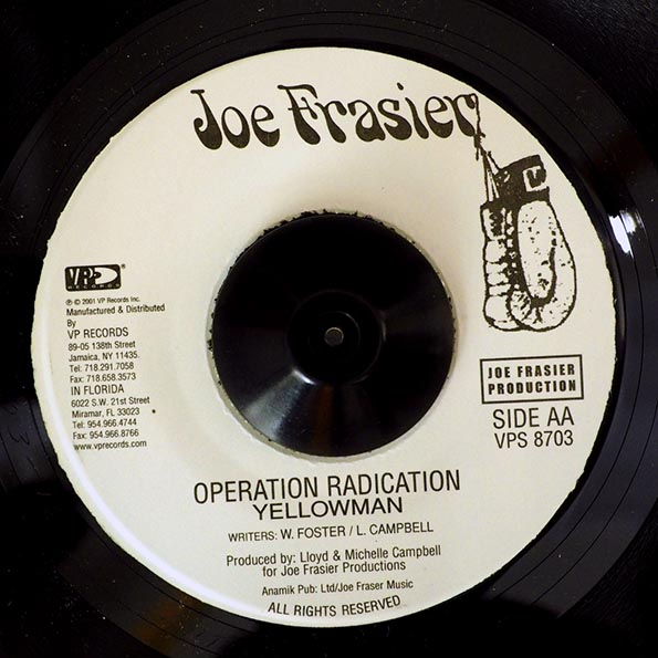 Itals - Ina Dis Time  /  Yellowman - Operation Radication