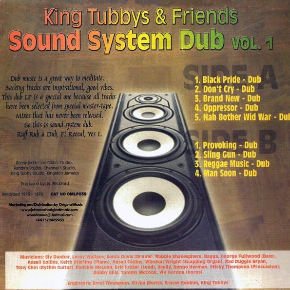 King Tubby - Sound System Dub Volume 1