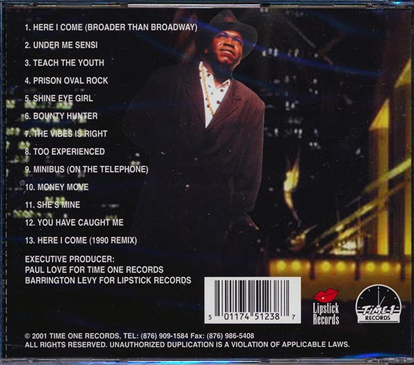 Barrington Levy - Broader Than Broadway: Best Of