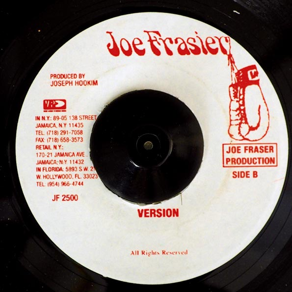 Jr. Byles - Fade Away  /  Version