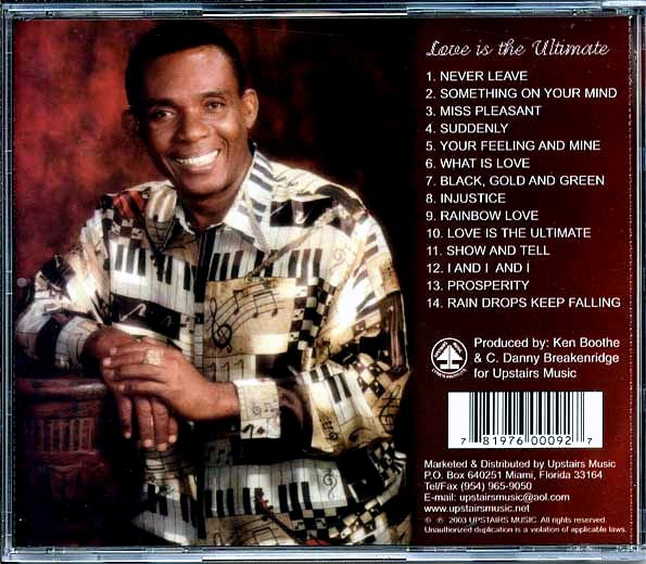 Ken Boothe - Love Is The Ultimate