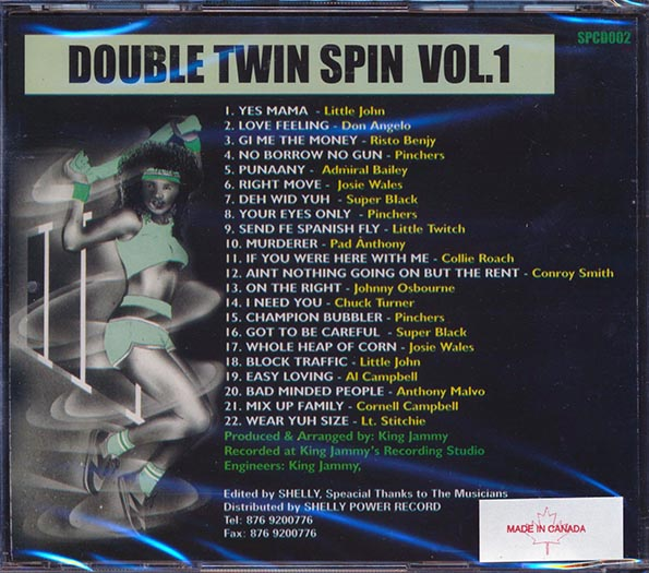 Double Twin Spin Volume 1