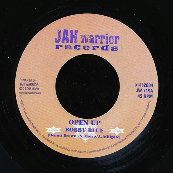 Bobby Blue - Open Up  /  Version