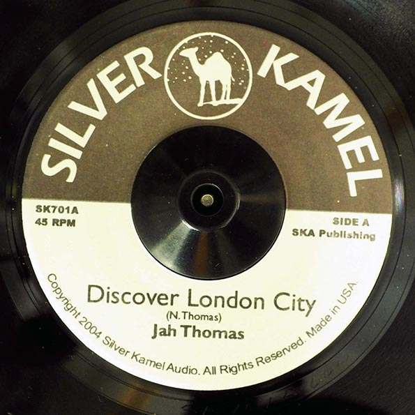 Jah Thomas - Discover London City  /  Dub Version