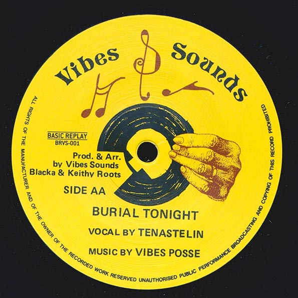 Tena Stelin - Commercial Bwoy;  Vibes Posse - Version  /  Burial Tonight;  Vibes Posse - Version