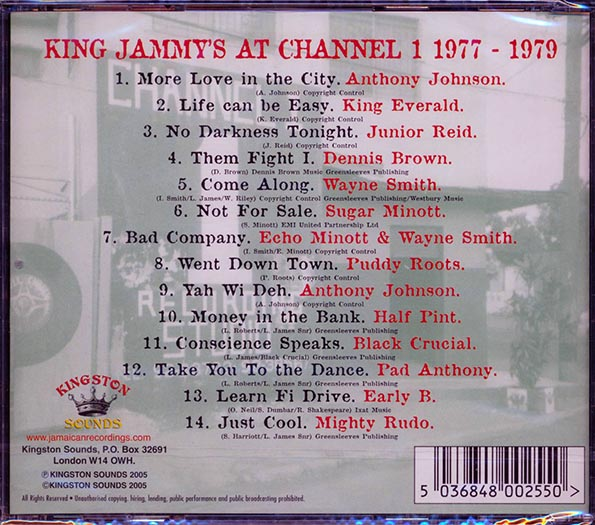 King Jammy At Channel One