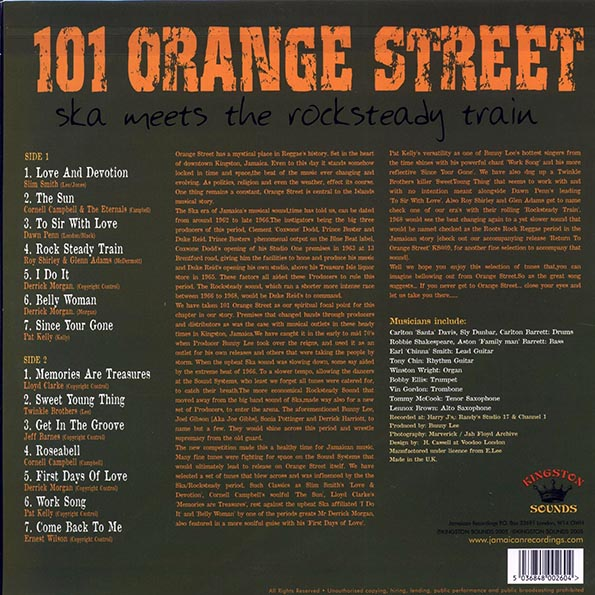 101 Orange Street: Ska Meets The Rocksteady Train