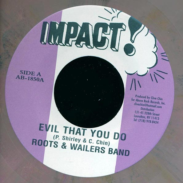 Roots & Wailers Band - Evil That You Do  /  Roots & The Wailers Band - Don Won Dub