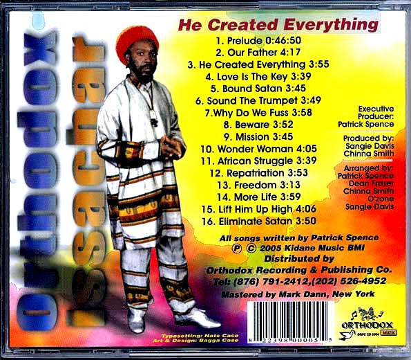 Orthodox Issachar - He Created Everything