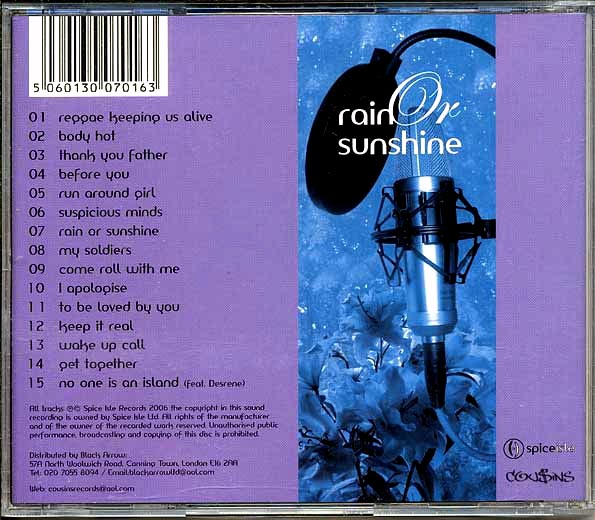 Colin B - Rain Or Sunshine