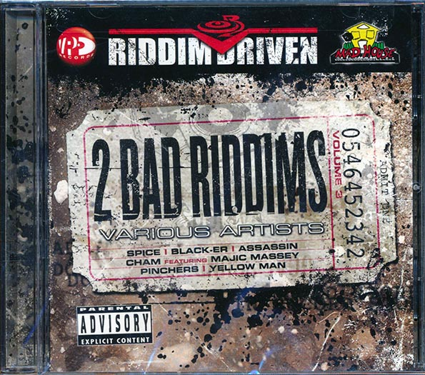 Riddim Driven: 2 Bad Riddims Volume 3 (Eighty Five & Stage Show Ryhthms)